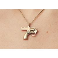 Necklace Karma Gun