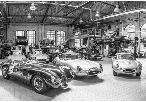 Dutch Art Explosion English car workshop