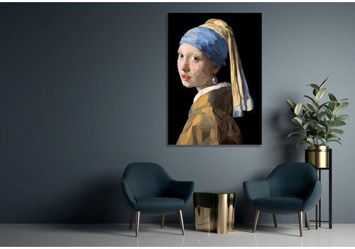 Dutch Art Explosion Mädchen mit einem Perlen