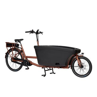 Dolly Dolly Bakfiets e-drive Bafang Copper Maxdrive middenmotor 600Wh 80Nm NuVinci Blazing Copper frame