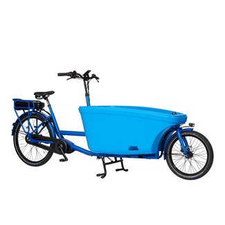 Dolly Dolly Bakfiets e-drive Bafang Summer Blue Maxdrive middenmotor 600Wh 80Nm NuVinci Summer Blue frame
