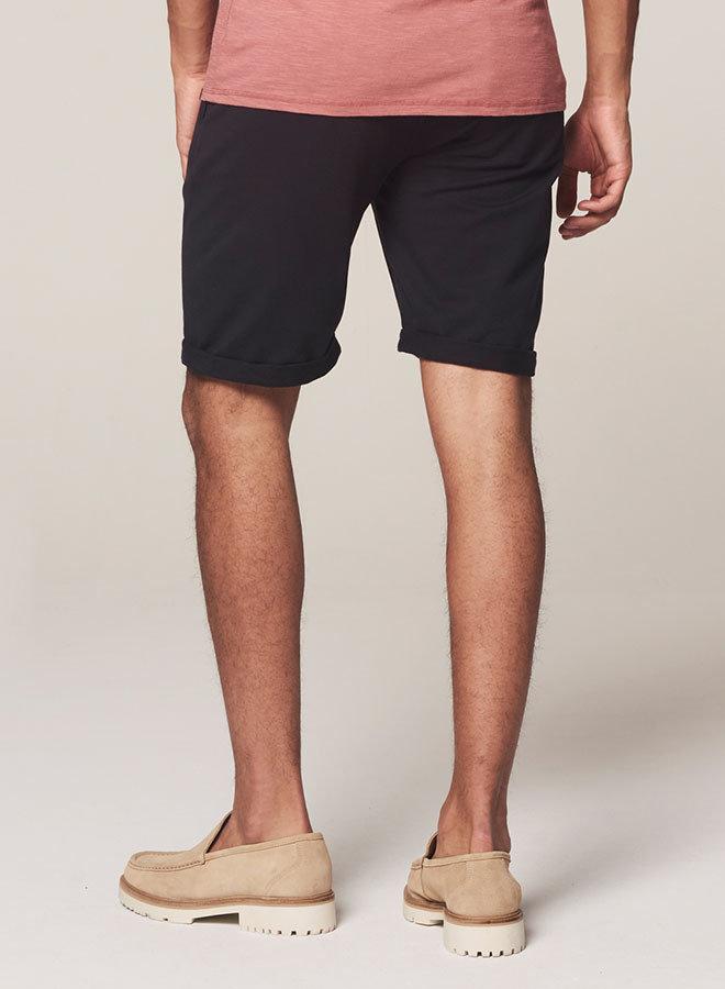 Chino Shorts Peach Terry  | Dk. Navy