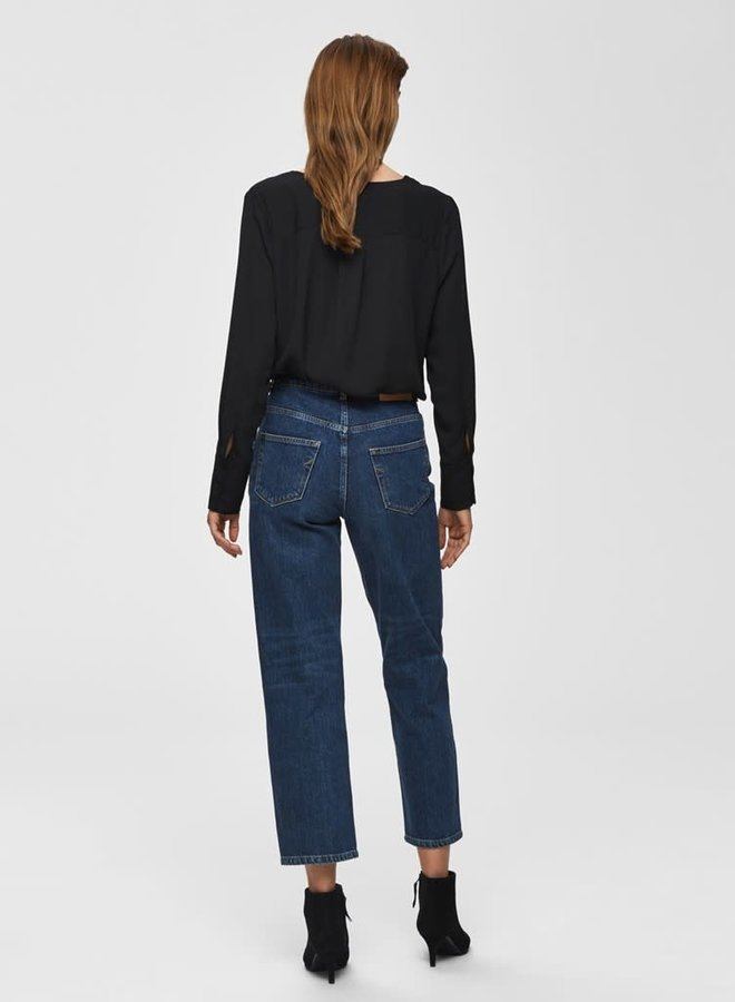 Stina-Dynella Shirt   Zwart