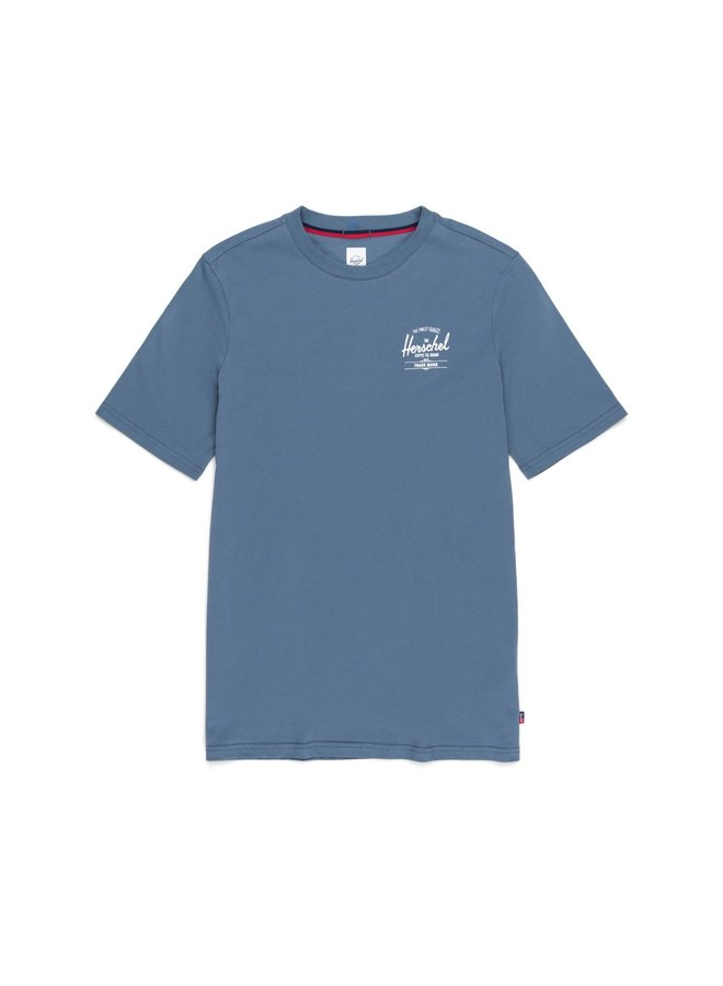 Men's Tee Classic Logo   Licht Blauw
