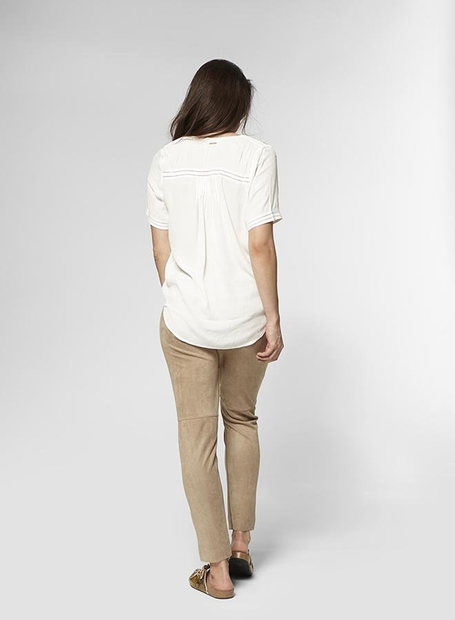 Cristy Blouse | Off White