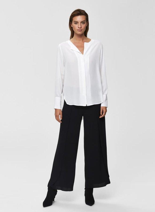 Stina-Dynella Shirt | Creme Wit