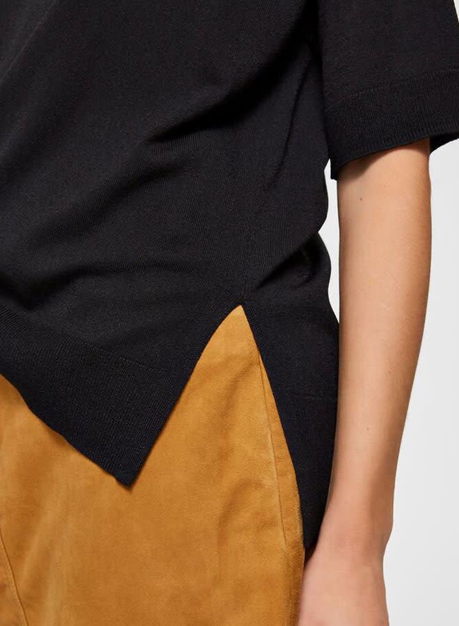 Wille Knit O-Neck | Black