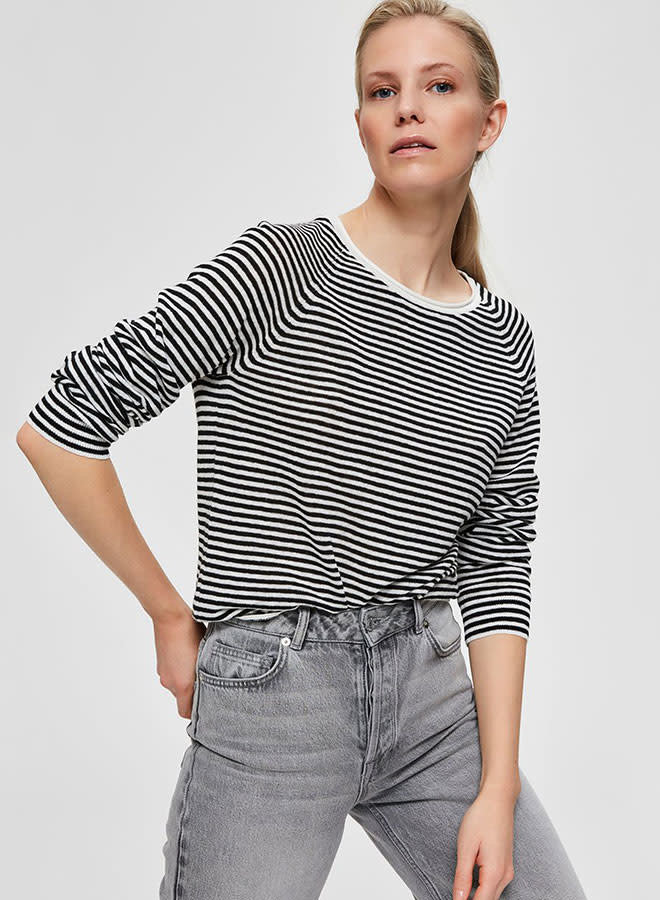 Astrid Knit O-Neck | Black