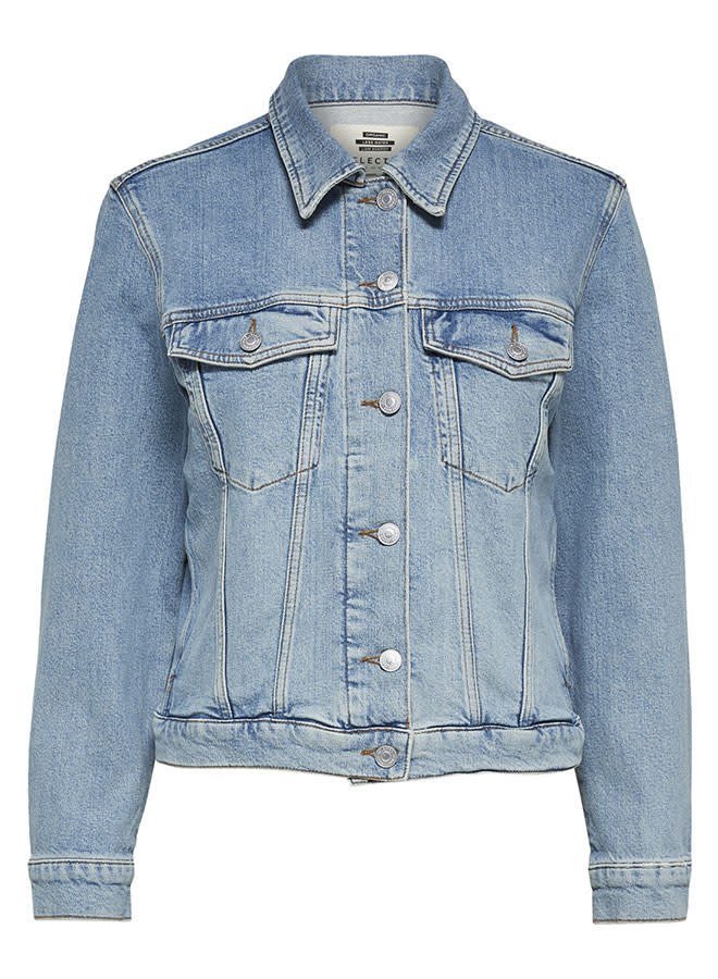 Story Air Blue Denim Jacket | Light Blue Denim