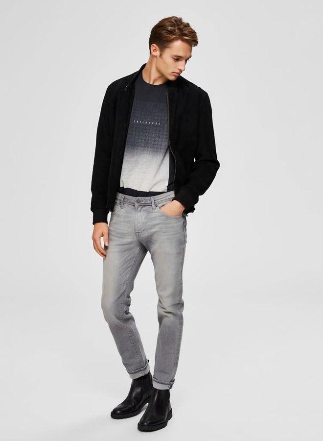 Slim-Leon | Light Grey Denim