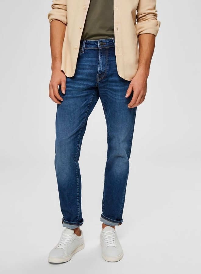 Straight-Scott | Medium Blue Denim