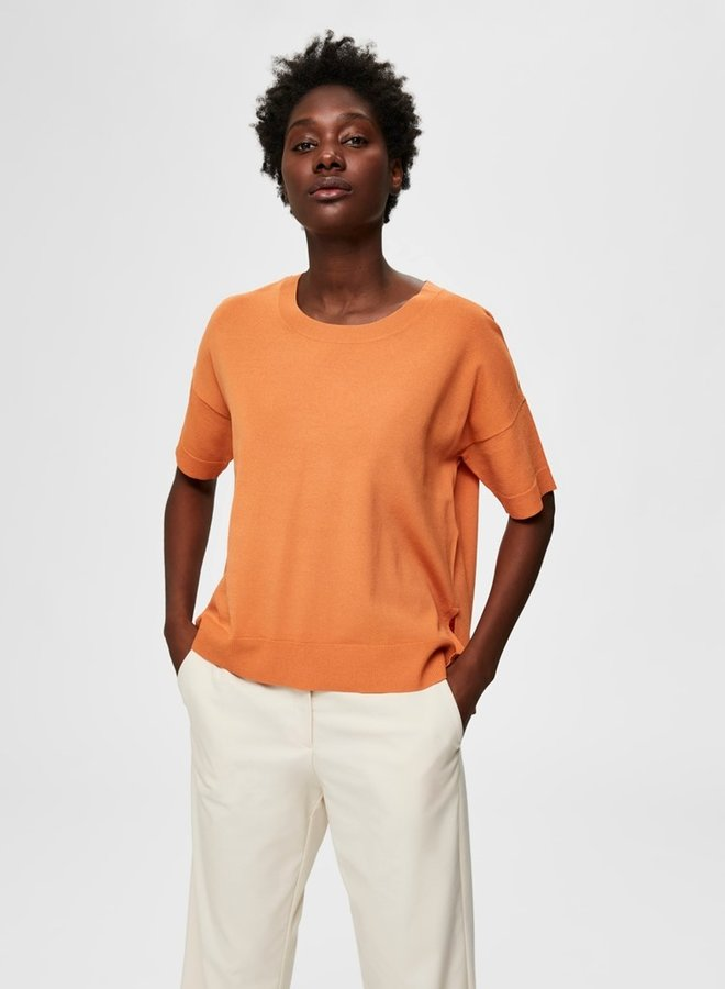 Wille Knit Top | Caramel