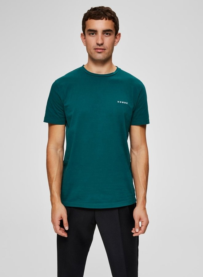 Nick O Neck  Tee | Groen