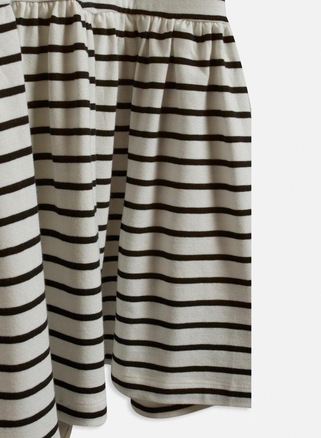 Hana Dress   Crème Zwart