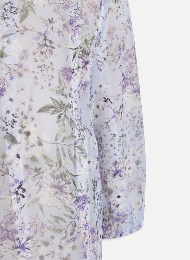 Esla Blouse | Lila Flower