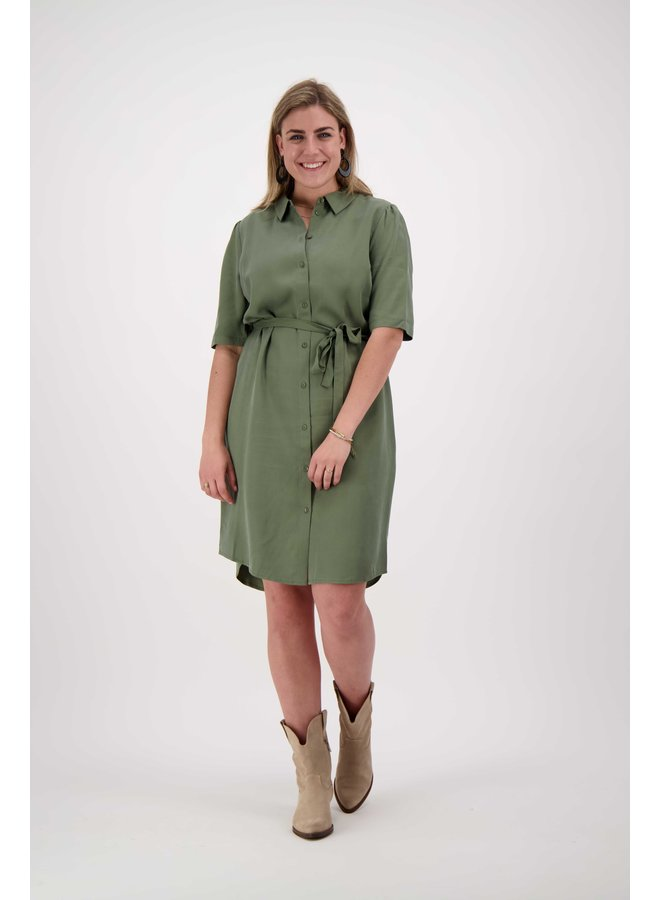 Another Label RYAWA DRESS - Green