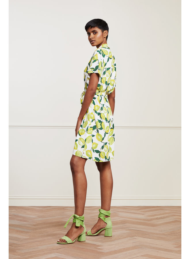 Fabienne Chapot CLT-64 - Boyfriend Dress - Lime Lights