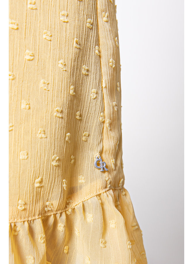 Colourful Rebel 10259 Celine embroidery - Yellow