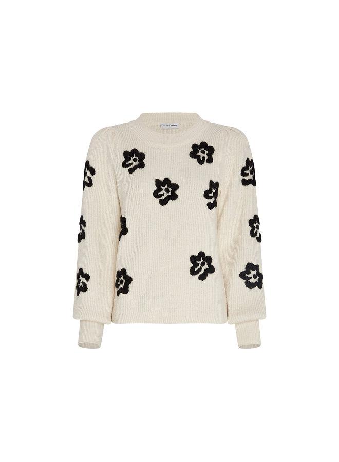 Fabienne Chapot  Fenny Pullover - Cream White/Black