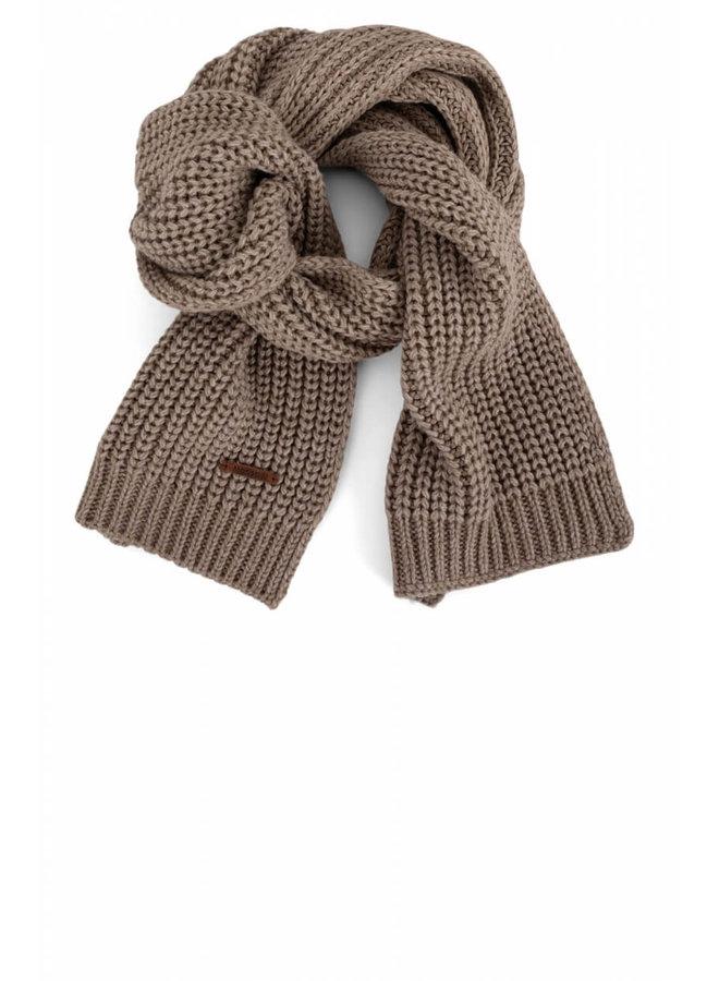 Moscow - Gebreide sjaal - Bruin