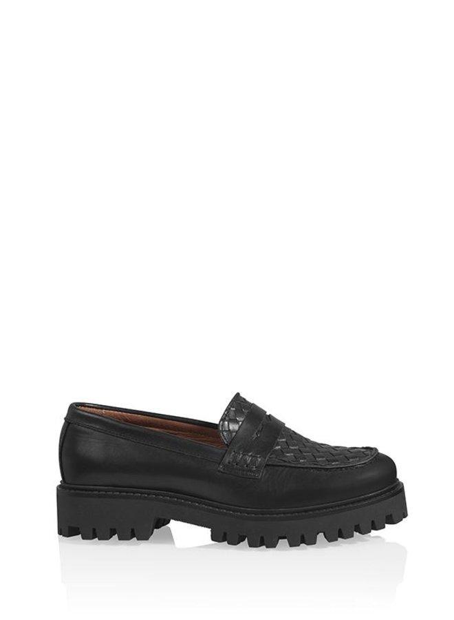 DWRS - Leren loafers
