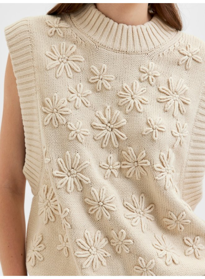 Selected Femme - Sandshell spencer