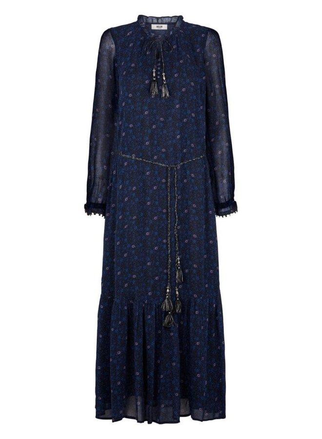 Moliin - Dina Dress - Mazarine Blue
