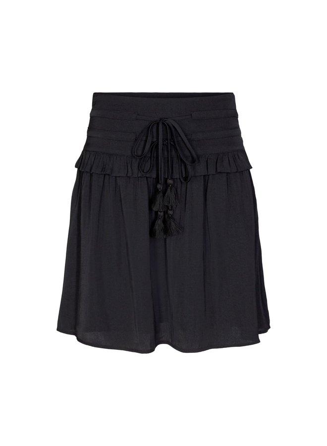 Sofie Schnoor - Zwarte rok met strikceintuur