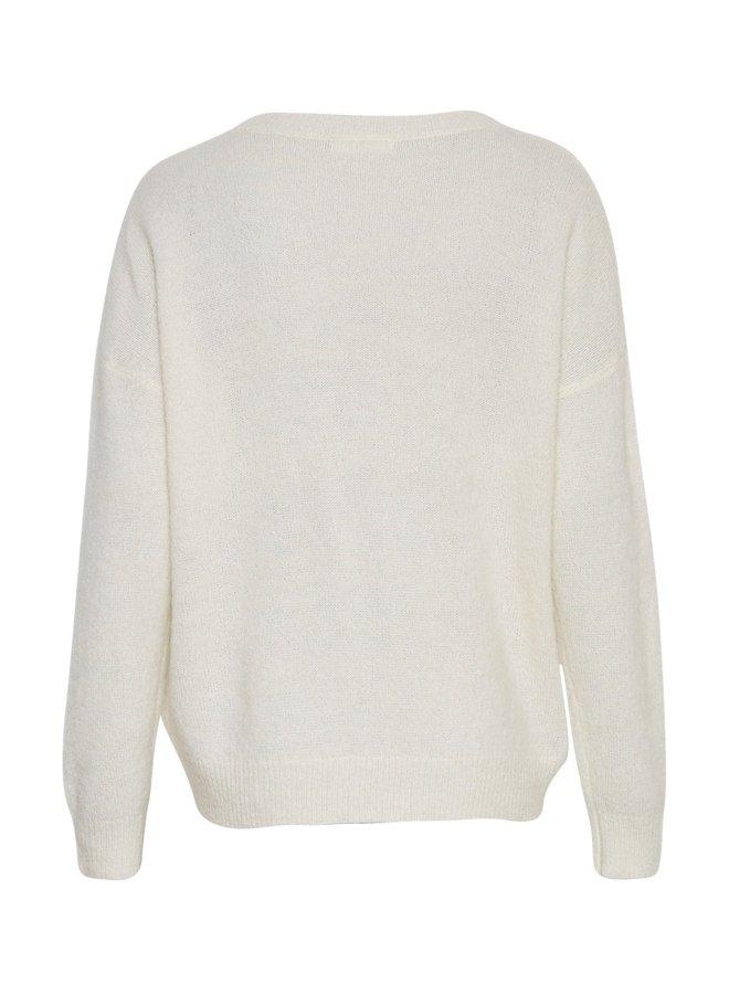 MSCH Copenhagen - Femme Mohair O Pullover - Vanilla Ice