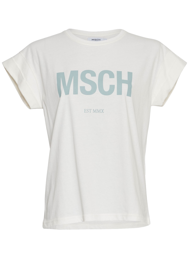 MSCH Copenhagen - Alva MSCH STD Seasonal Tee - Blue Surf