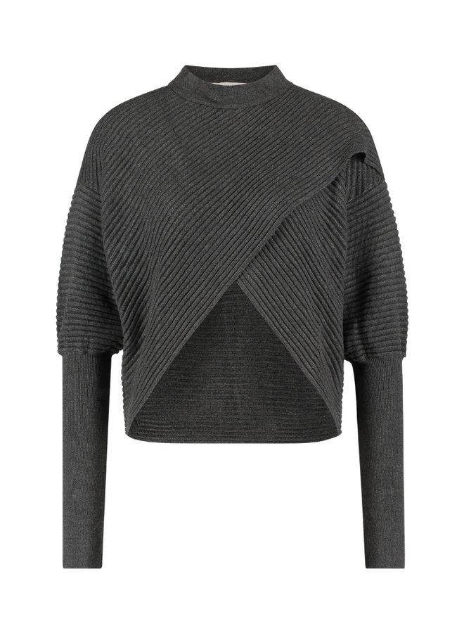 Freebird - Selena Sweater - Grijs