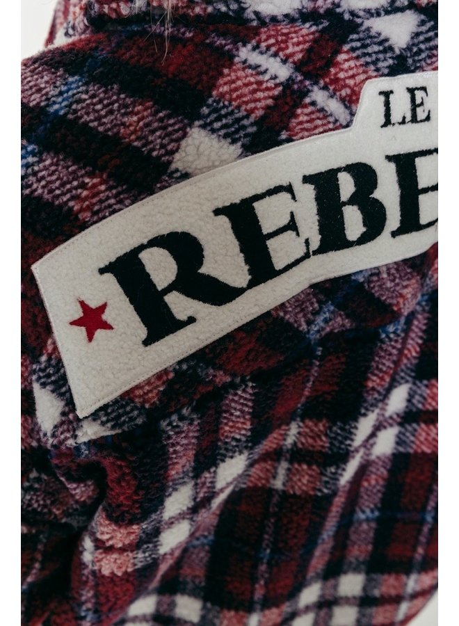 Stella Rebelle Teddy Jacket   Bordeaux
