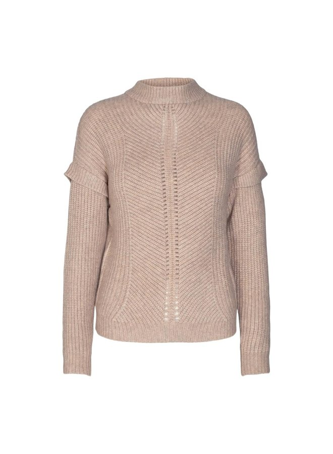 Co Couture - Rowie Pattern Knit - Bone