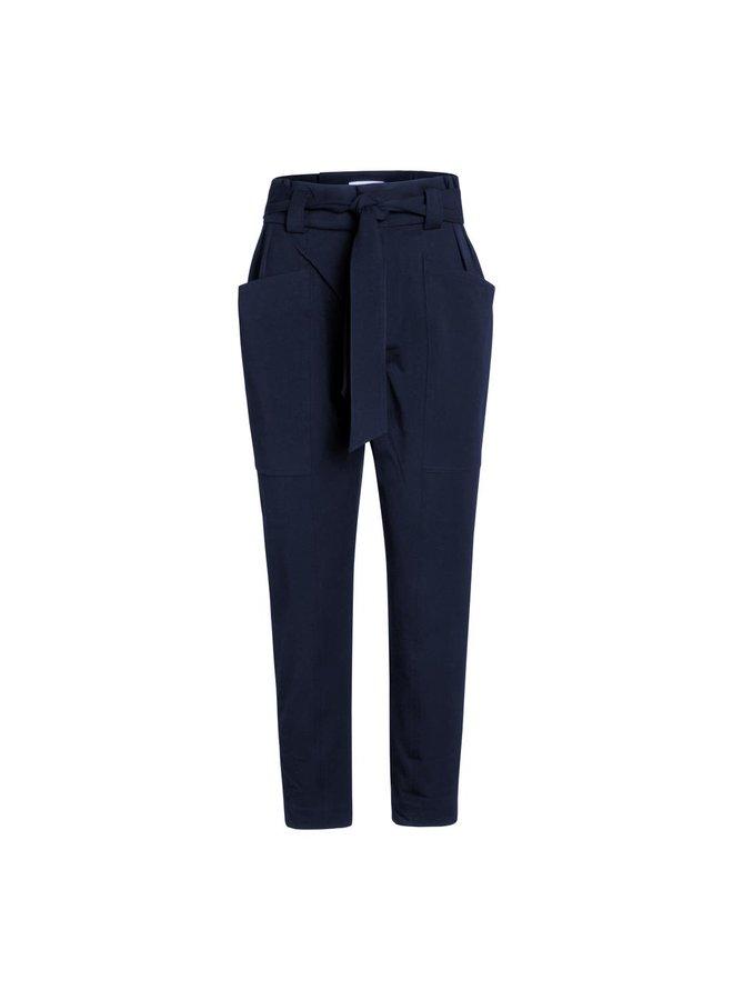 Co Couture - Miya Pocket Pant - Navy
