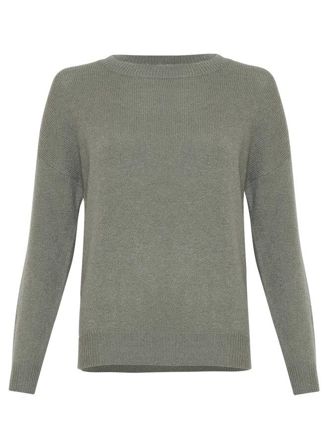 MSCH Copenhagen - Femme Mohair O Pullover - Agave green