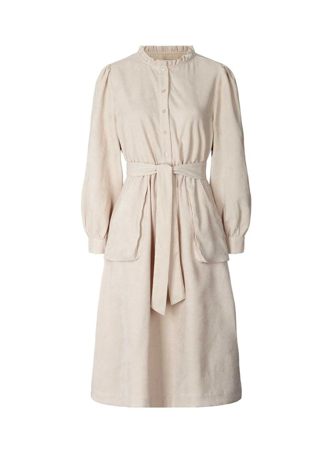 Lolly's Laundry  - Karlo Dress - Creme