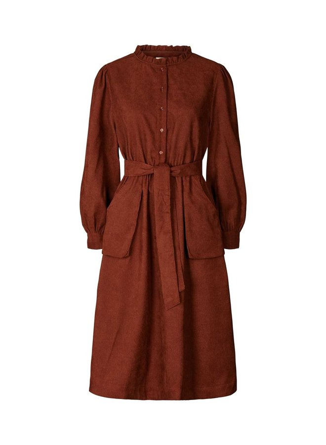 Lolly's Laundry - Karlo Dress - Rust