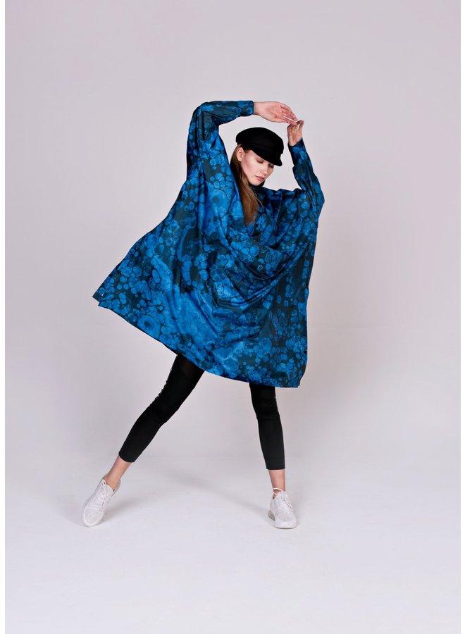 Rainkiss - Rainponcho - Blue Bubbles
