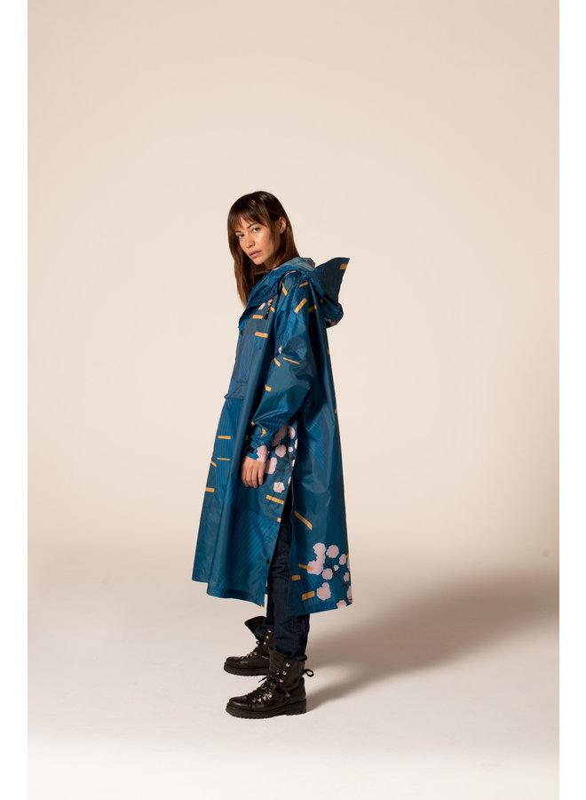 Rainkiss - Rainponcho - Japanese Blossom