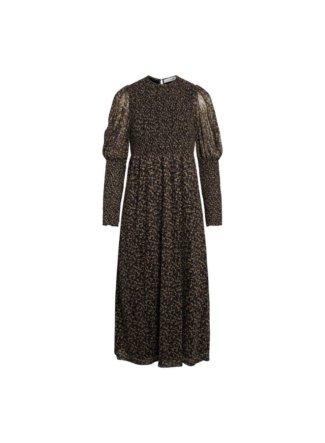 Co Couture - Mesh Flower Smock Dress