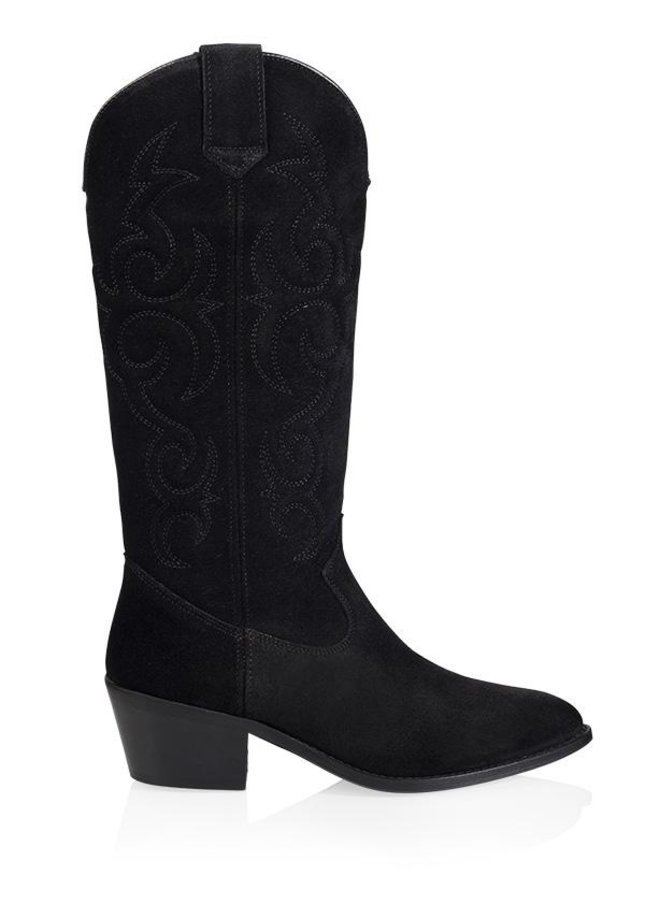 DWRS - Idaho Western laarzen - Suède zwart
