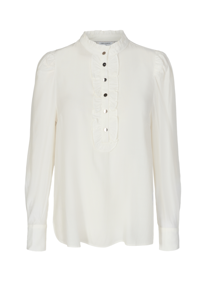 Freequent - Blouse Knopen | Offwhite