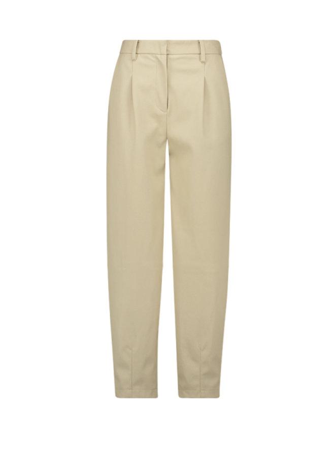 Another Label - Delfine Faux Leather Pants   Beige
