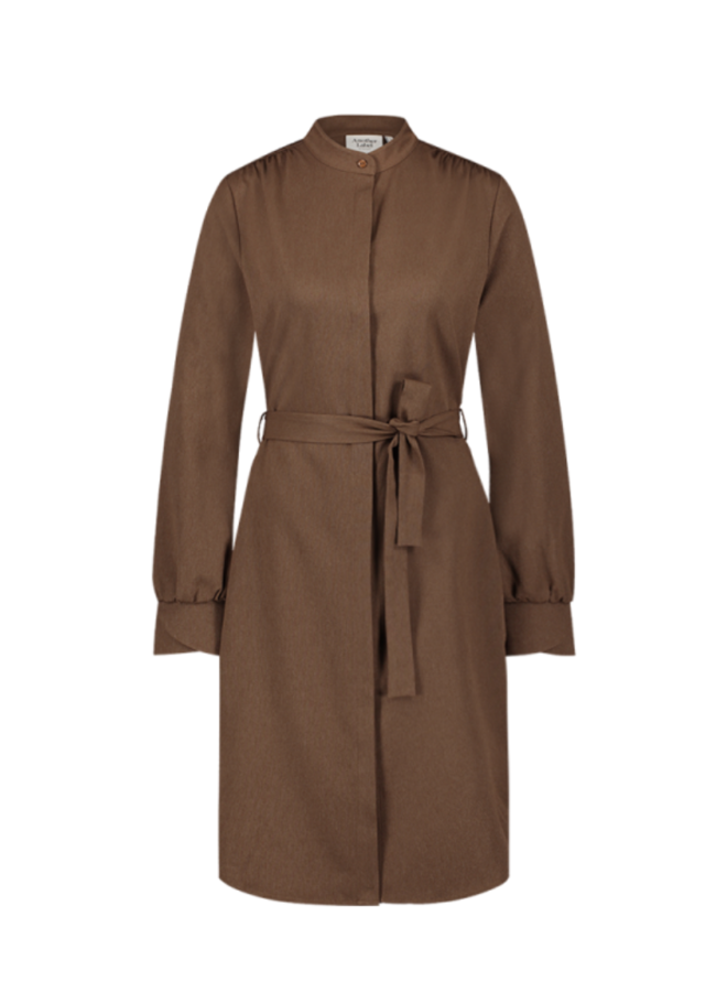Another Label - Dalyce Dress - Brown