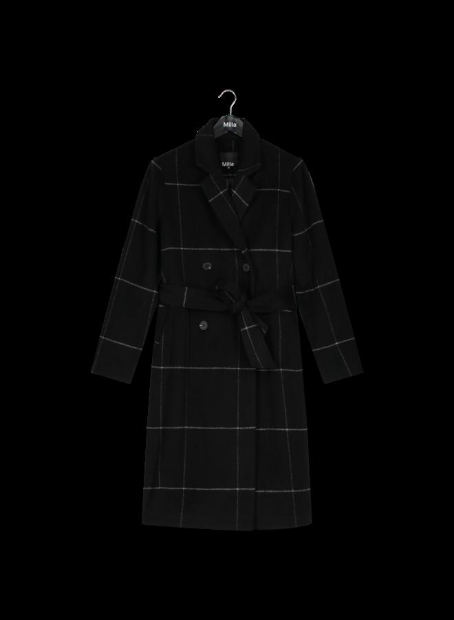 Milla - Marie Coat - Black