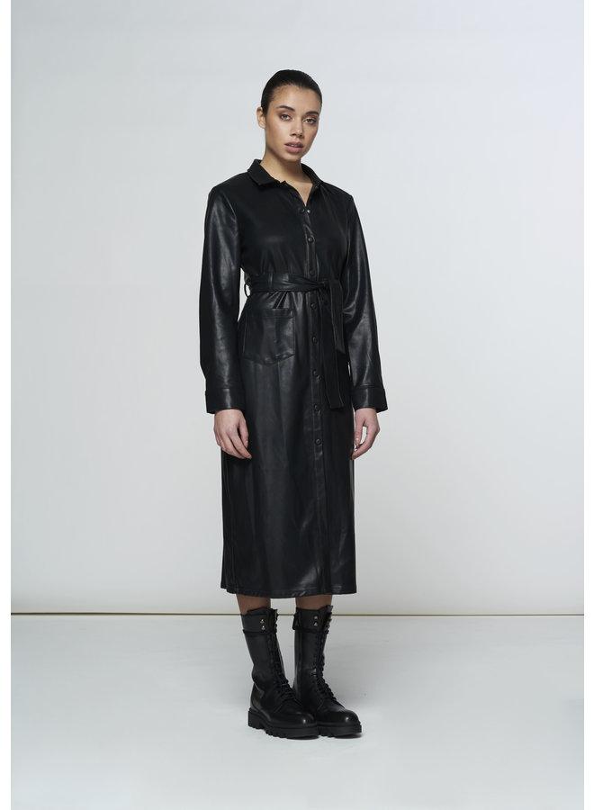 Milla - Dory Dress - Leatherlook
