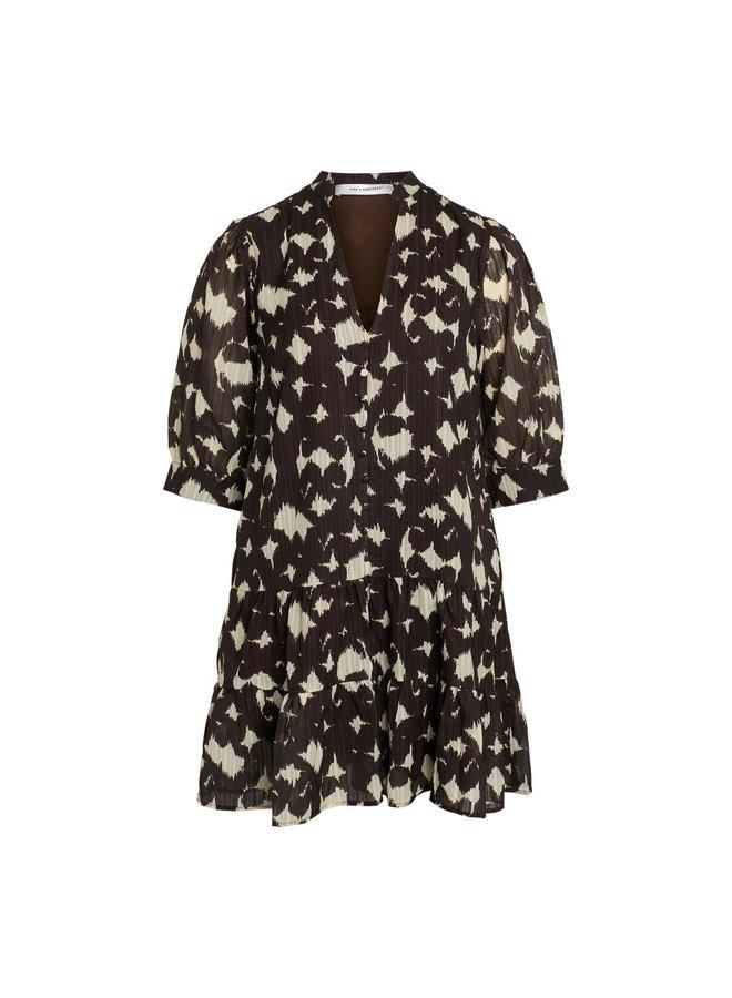 Co'Couture - Alyssa Dress - Brown