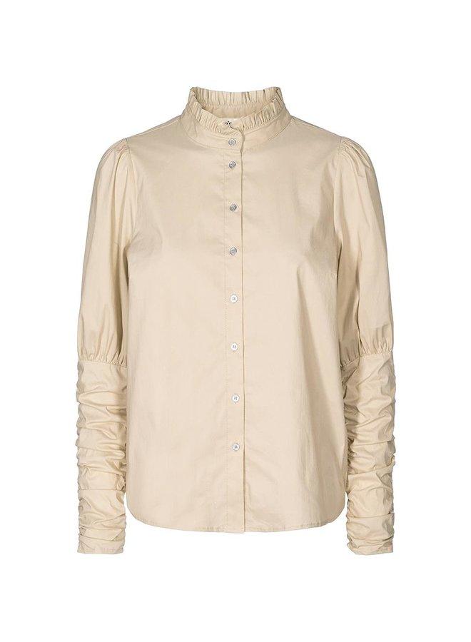 Co'Couture - Sandy Puff Shirt - Marzipan