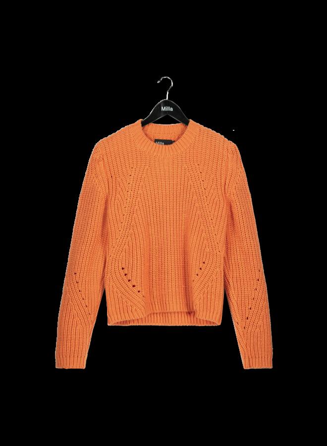 Milla - Sandy Sweater - Autumn Sunset