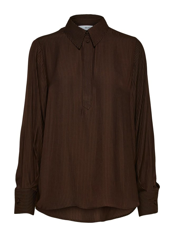 Selected Femme - Blouse - Brown
